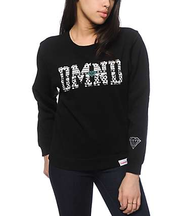Diamond Supply Co. Tribal Diamond Crew Neck Sweatshirt