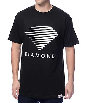 Diamond Supply Co. Westwind Black T-Shirt
