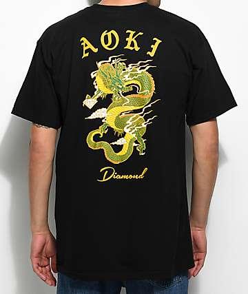 Diamond Supply Co. x Steve Aoki camiseta negra