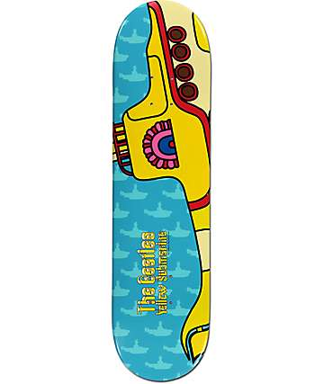 "Diamond Supply Co. x The Beatles Yellow Submarine 8.0"" Skateboard Deck"