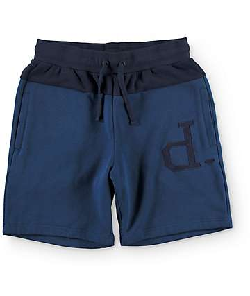 Diamond Supply Schoolyard Navy Sweatshorts