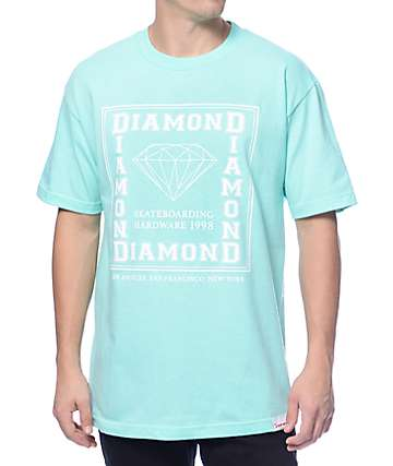 Diamond Supply Square City Mint T-Shirt