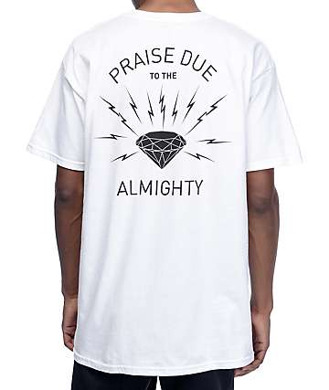 Diamond Worship White T-Shirt