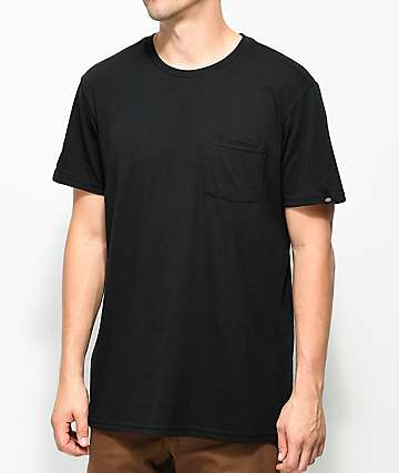 Dickies Black Pocket T-Shirt