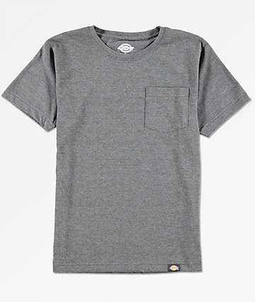 Dickies Boys Black Pocket T-Shirt