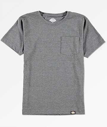 Dickies Boys Black Pocket T-Shirt