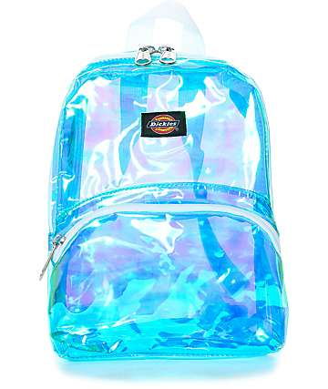Dickies Iridescent Festival Mini Backpack