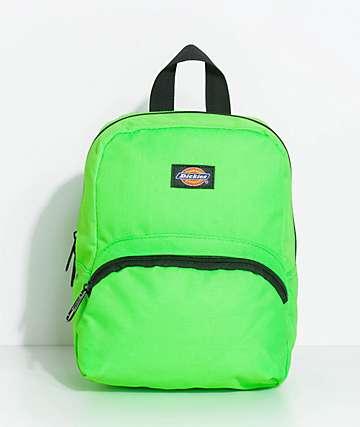 Dickies Neon mochila mini en verde