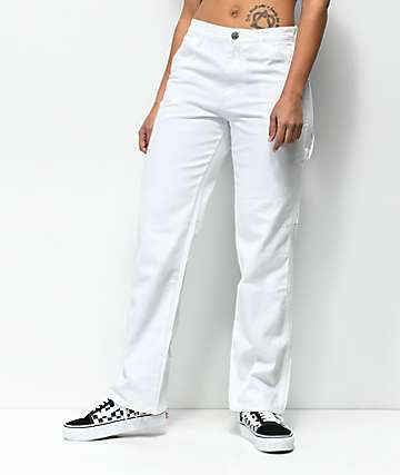 Dickies White Carpenter Pants