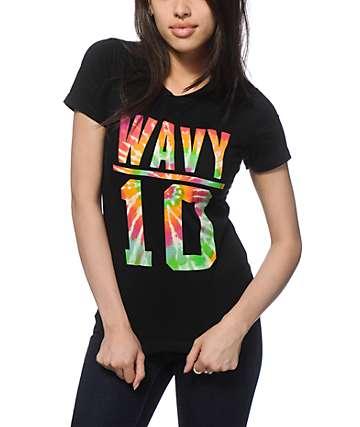Dime By Dimepiece LA DXME Wavy Tie Dye Fill T-Shirt