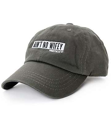 Dimepiece Ain't No Wifey Green Strapback Hat