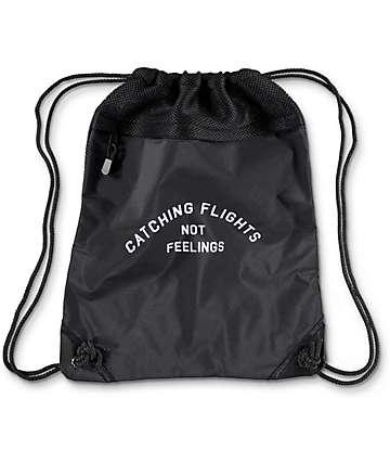 Dimepiece Catching Flights bolso con cordón en negro