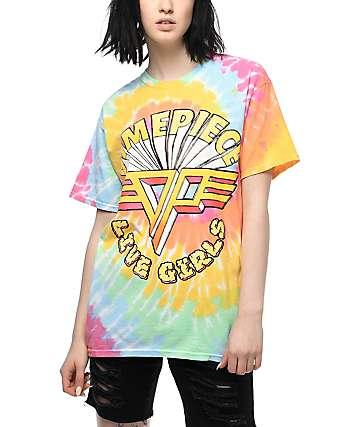 Dimepiece Live Girls Tie Dye Boyfriend T-Shirt
