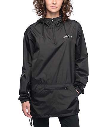 Dimepiece Logo OE Black Anorak Jacket