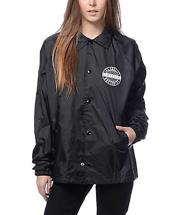 Dimepiece Worldwide Black Coaches Jacket