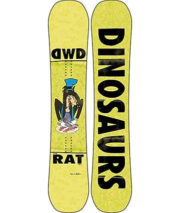 Dinosaurs Will Die Rat 151cm Snowboard