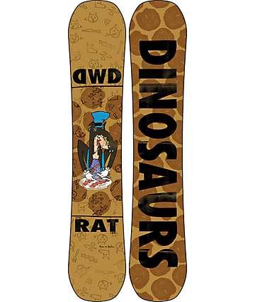 Dinosaurs Will Die Rat 153cm Snowboard
