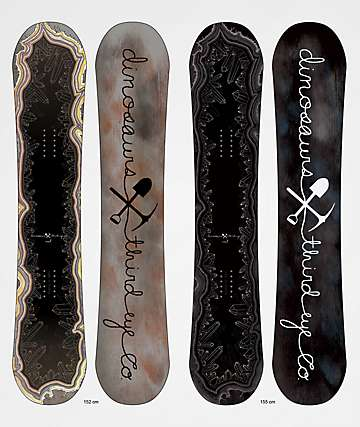 Dinosaurs Will Die x Third Eye Co. MaeT Snowboard