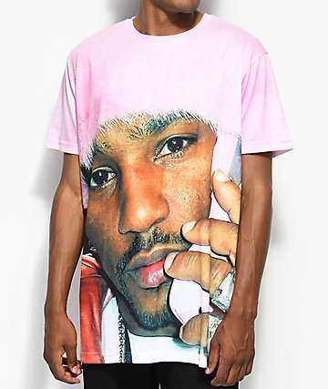 Dipset Camron Pink Fur Sublimated T-Shirt