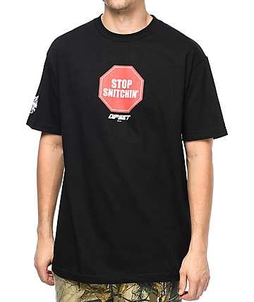 Dipset Stop Snitchin camiseta negra