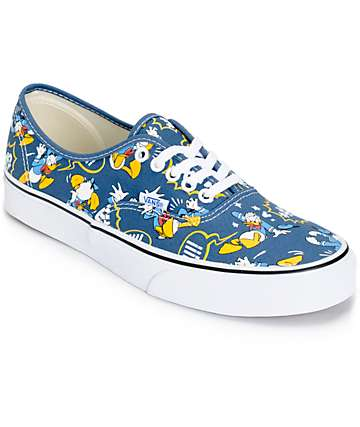 Disney x Vans Authentic Donald Duck Skate Shoes (Mens)