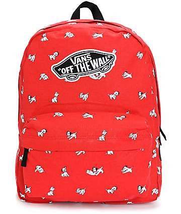 Disney x Vans Dalmatian Red Backpack