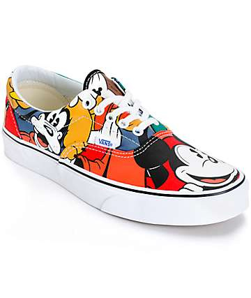 Disney x Vans Era Mickey & Friends Skate Shoes (Mens)