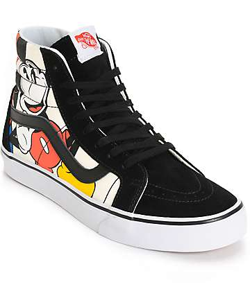 Disney x Vans SK8 Hi Mickey & Friends Skate Shoes (Mens)