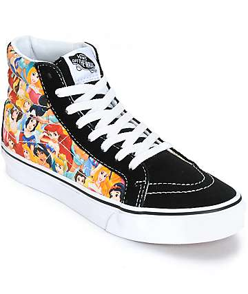Disney x Vans SK8 Hi Slim Disney Princess Shoes (Womens)