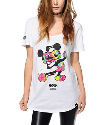 Distorted Mickey Collection By Neff Mickey Bend T-Shirt