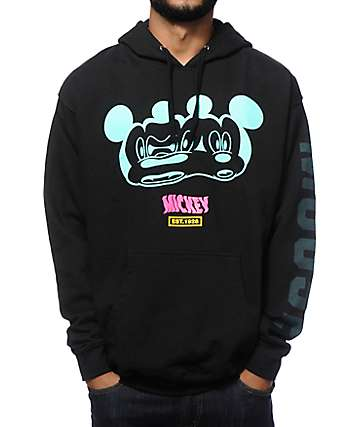 Distorted Mickey Collection By Neff Stretch Hoodie