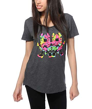 Distorted Mickey Collection By Neff Tie Dye Minnie T-Shirt