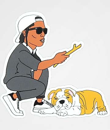 Dog Limited A$AP & Pup Sticker