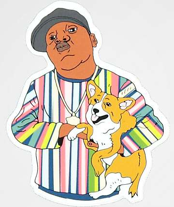 Dog Limited Biggie & Pup Sticker