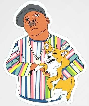 Dog Limited Biggie & Pup Sticker