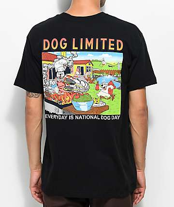 Dog Limited Every Day Is Black T-Shirt