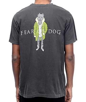 Dog Limited Fear Of Dog camiseta negra