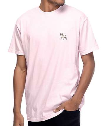 Dog Limited Frenchie Pink T-Shirt