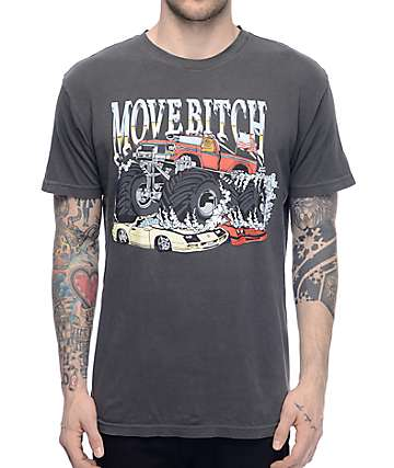 Dog Limited Keiths Truck Black Wash T-Shirt