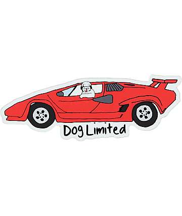 Dog Limited Lambo Sticker