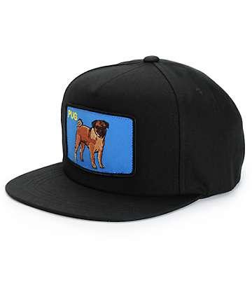 Dog Limited Pug Snapback Hat