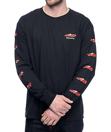 Dog Limited What Up Dog Lambo Black Long sleeve T-Shirt
