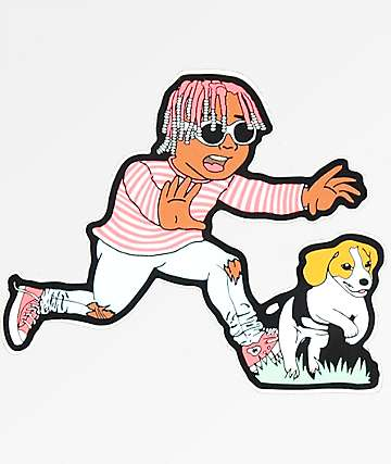 Dog Limited Yachty & Pup Sticker