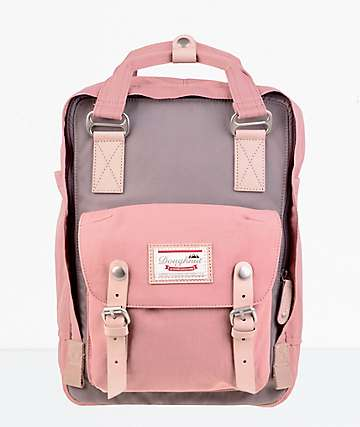 Doughnut Macaroon Lavender & Rose Backpack