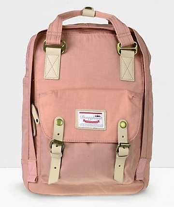 Doughnut Macaroon mochila rosa