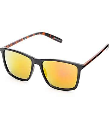 Downey Matte Black & Tortoise Classic Sunglasses