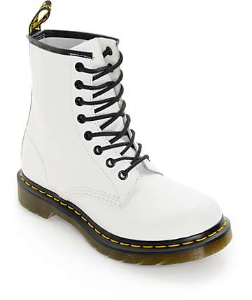 Dr. Marten 1460 White Smooth Boots