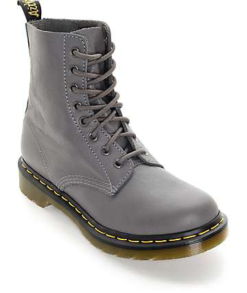 Dr. Marten Pascal 8 Eye Lead Virginia Boots