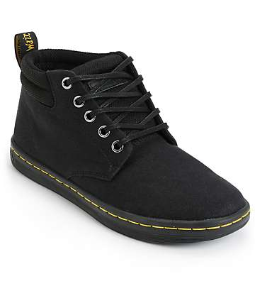 Dr. Martens Belmont botas negreas 5 ojetes (mujer)