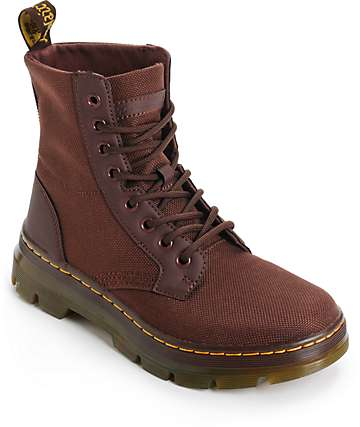 Dr. Martens Combs Old Oxblood Boots